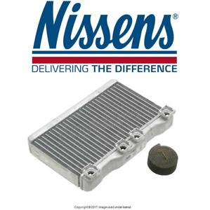 Bmw E38 740i 740il 750il Hvac Heater Core With Aluminum Water Box Nissens New