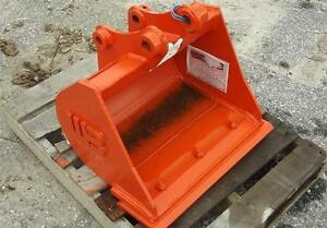 18 Pin on Drainage Bucket With Bolt On Cutting Edge For Kubota B26
