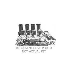 Ford Tractor 2n 8n 9n Engine Rebuild Kit 4 Ring Pistons Rings Valves Sleeves 2