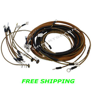 Allis Chalmers B C Ca Ib Complete Original Style Wiring Harness Kit New 210949