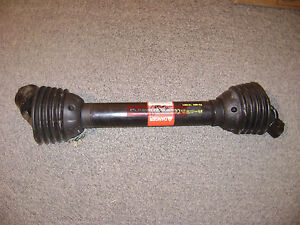 Disc Mower Pto Driveline For New Idea Challenger Massey Rhino Case Bush Hog