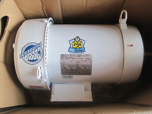 New Emerson Us Motors Wd10e2dc Type Fwer 10 Hp Motor