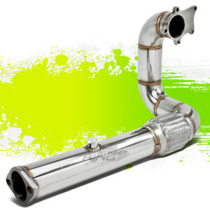 For Honda Acura D B Series Civic T304 Stainless T3 Turbo Downpipe Down Pipe