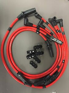 Zzperformance Red 10 5mm Ignition Spark Plug Wires 3800 Series Ii L67