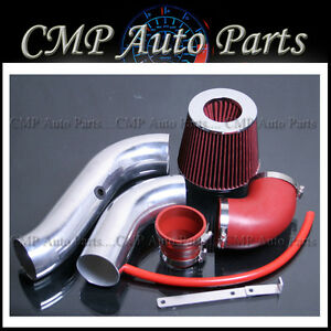 2004 2008 Chevy Aveo 1 6l Cold Air Intake Induction Kit Systems Red