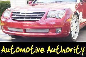 Chrome Mesh Grille Grill Kit For Chrysler Crossfire 04 05 06 07 08