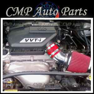 Red Air Intake Kit For 2000 2005 Toyota Rav4 2 0 2 0l 2 4 2 4l Engine