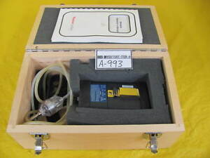 Thermo Gastech Genesis Gas Detector Used Working