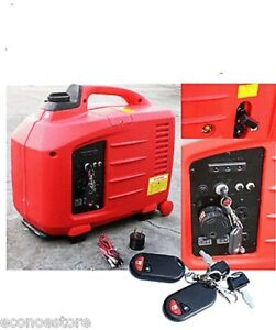 2700w Remote Key Start Digital Inverter Rv Gas Generator W Epa