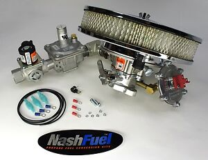 Complete Natural Gas Conversion Kit Ford 300 6 Cyl Engine 3 Inch Bolt Generator