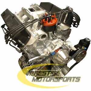 575hp Shelby Aluminum Ford Crate Engine 427 Stroker Cobra Turn Key 393 408 427