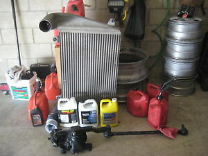 8 Used Tires Gear Truck Radiator And Others