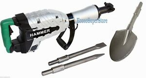 Hd 1500w Demolition Breaker Jack Hammer Concrete Spade Scoope Shovel Ug50