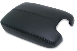 Armrest Center Console Cover Real Leather For 08 12 Honda Accord Black Padding
