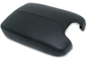 Center Console Armrest Leather Synthetic Cover For Honda Accord 08 12 Black
