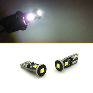 2 Super Bright T10 Wedge Ultra White Hid Style Parking City Led Light Bulb