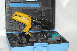 Stanley Battery Powered Hydraulic Cable Cutter 14 4 Volt Cordless Ccb16001