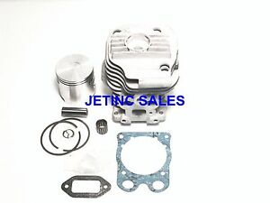 Cylinder Piston Kit Nikasil Fits Husqvarna Partner K750 K760 W Gaskets Bearing