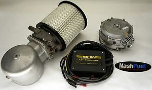 Impco Complete Dual Fuel Conversion Kit Chevy Gmc 87 95 7 4l 454 V8 Propane Lpg