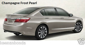 Genuine Oem Honda Accord 4dr Sedan Rear Under Body Spoiler Kit 2013 2015