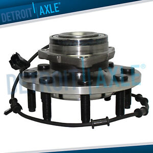 New Front Wheel Bearing Hub Assembly For Dodge Ram 2500 3500 W abs 2wd Rwd 8 lug