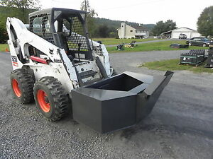 New Cid Xtreme 3 4 Yard Concrete Cement Bucket For Bobcat Skid Steer Loader New