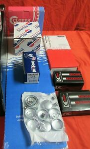 Chevy Gmc 350 5 7 5 7l Vortec Engine Kit Pistons Rings Oil Pump Timing Bearings