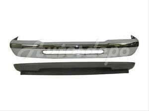 For 1993 1997 Ford Ranger Front Bumper Chrome Valance W o Fog Hole 2pc New