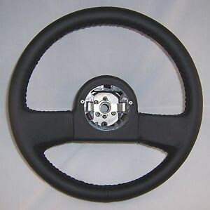 1984 1989 Corvette Leather Reproduction Steering Wheel New