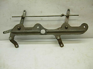 Tunnel Ram Edelbrock 2801b Nos Carburetor Linkage Bracket Holley Chevy Ford Amc