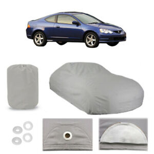 2002 2006 Acura Rsx 4 Layer Car Cover Fitted Water Proof Snow Rain Sun Dust