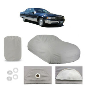 Cadillac Fleetwood 4 Layer Car Cover Fitted Outdoor Water Proof Rain Sun Dust