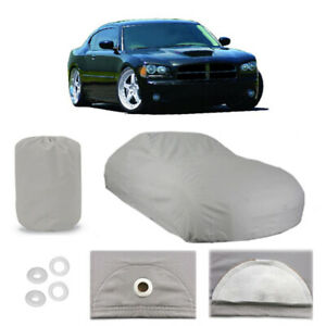 Dodge Charger 4 Layer Car Cover Fitted Water Proof Outdoor Rain Snow Sun Dust