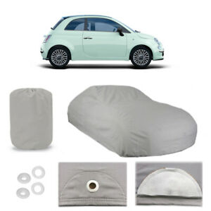Fiat 500 6 Layer Car Cover Fitted In Out Door Water Proof Rain Snow Uv Sun Dust