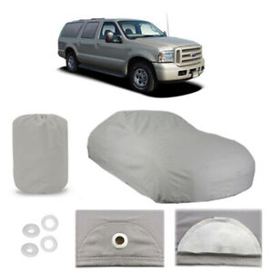 Ford Excursion 4 Layer Suv Car Cover Outdoor Fitted Water Proof Rain Sun Dust