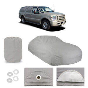 Ford Excursion 6 Layer Suv Car Cover Outdoor Fitted Water Proof Rain Sun Dust