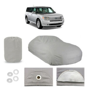 Ford Flex 4 Layer Car Cover Fitted Outdoor Water Proof Rain Snow Uv Sun Dust