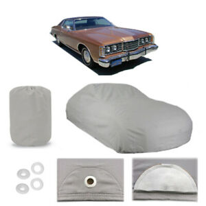 Ford Ltd 5 Layer Car Cover Fitted In Out Door Water Proof Rain Snow Sun Dust