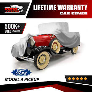 Ford Model A Pickup 5 Layer Car Cover Outdoor Water Proof Rain Sun Dust Snow Uv