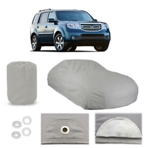 Honda Pilot 4 Layer Car Cover Fitted Water Proof In Out Door Rain Snow Sun Dust