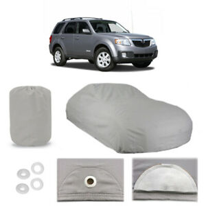 Mazda Tribute 4 Layer Car Cover Fitted Outdoor Water Proof Rain Snow Sun Dust
