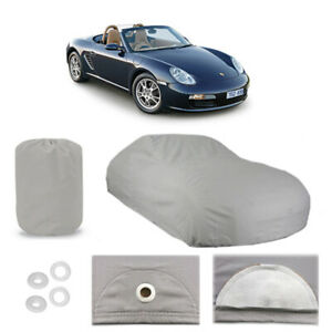 Porsche Boxster 4 Layer Car Cover Fitted Outdoor Water Proof Rain Snow Sun Dust
