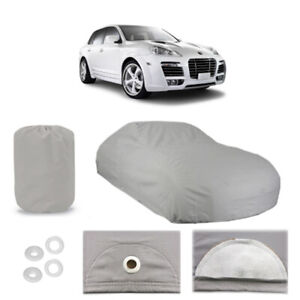 Porsche Cayenne 4 Layer Car Cover Fitted Outdoor Water Proof Rain Snow Sun Dust