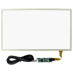 14 1 Resistive Touch Panel With Controller For 14 1366x768 Lcd Screen