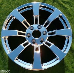 Chrome 22 Escalade Yukon Wheel Tahoe New Oem Factory Gm Spec Ck375 5409 19300989