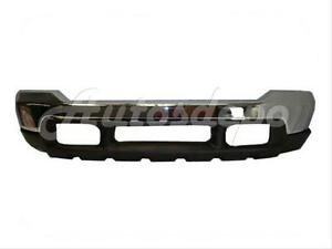 For 99 04 Ford Super Duty 00 04 Excursion Front Bumper Chrome Upper Valance 2p