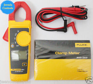 New Fluke 302 Digital Clamp Meter Ac dc Multimeter Electronic Tester