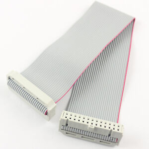 50pcs 2 54mm Pitch 2x13 Pin 26 Pin Female 26 Wire Idc Flat Ribbon Cable 20cm