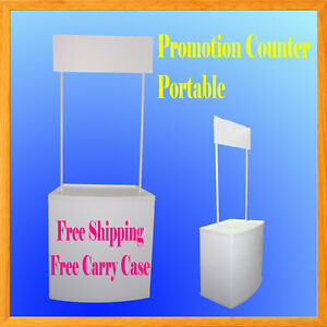 Promotion Counter Table Kiosk Trade Show Display Supermarket Demo Pop Up Booth