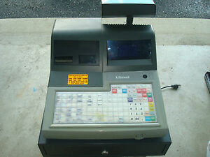 Uniwell Ex 570f Cash Register Pos Terminal Scanner Included